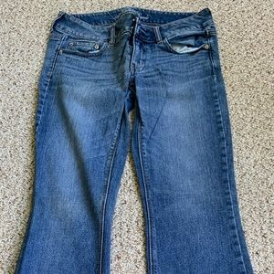 Artist cut jeans
